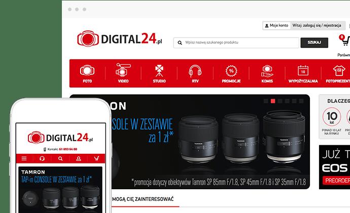 Case study sukcesu wdrożenia Digital24.pl