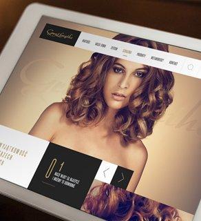One Page – sklep internetowy, serwis wizerunkowy i blog dla marki Great Lengths